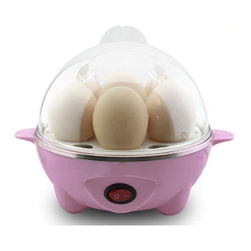 HFAFRZ Eierkocher Testsieger, Eierkocher In Haushalt & Kiiche Mit HäRtegradeinstellung FüR 1-7 Eier - Inkl Macht Schnell GemüSe,Rosa