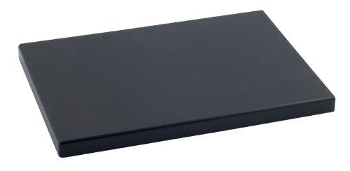 Metaltex - Tabla de cocina, Polietileno, Negro, 33 x 23 x 2 cm