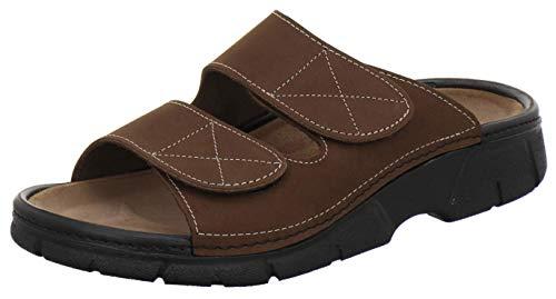 AFS-schoenen 3502 comfortabele pannenkoeken voor heren leer, pantoffels werkschoenen, Made in Germany