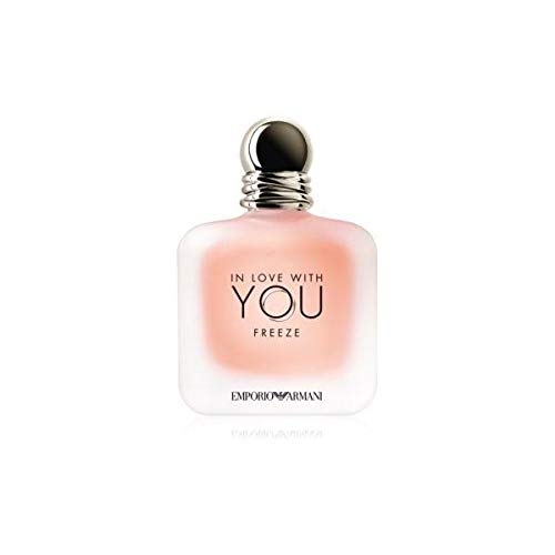 Armani, GIORGIO IN LOVE WITH YOU EAU DE PARFUM FREEZE 100ML VAPORIZADOR Unisex adulto, Negro, Único