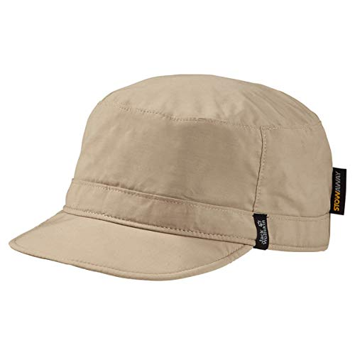 Jack Wolfskin Stow Away Casquettes Unisex Mixte Adulte, Sand Dune, FR Unique (Taille Fabricant : One Size)