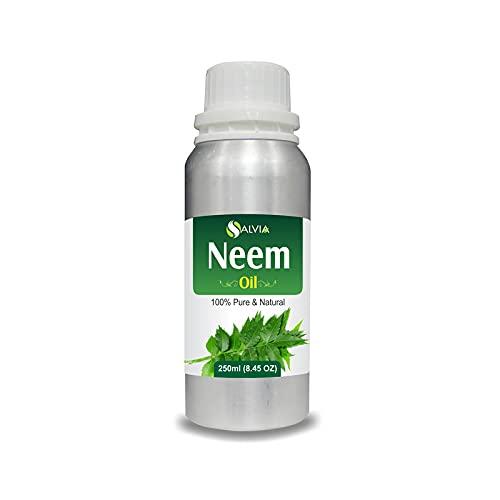 Aceite de Neem (Azadirachta Indica Juss) 100% natural puro sin diluir aceite portador sin cortar 250ml
