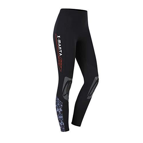 Owntop Neoprenhose für Männer Frauen und Jugend - 3MM Tauchhose, Thermo Tauchanzug Hosen, Erwachsene Wetsuits Pants Sonnenschutz UV 50+ Badeanzüge, M