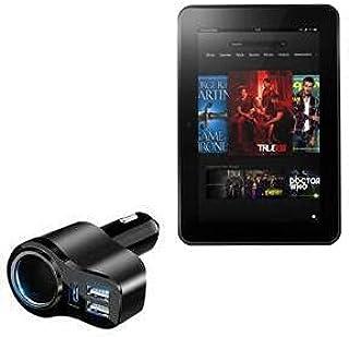 Carregador de carro BoxWave para Kindle Fire HD 8.9 (2ª geração 2012), [Carregador de carro PD XtraPower] Carregador de ca...