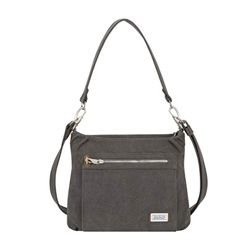IT ONLY GET'S BETTER WITH AGE, beautifully crafted designed in cotton & canvas material with suede trim, accented in nickel plated hardware and comes with a 5 year limited EXCELLENT SIZE FOR ANY OCCASION featuring front and rear zippered pockets, 2 d...
