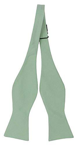 Notch Ungebundene Fliege aus Seide für Herren - Blaugrüne Jade