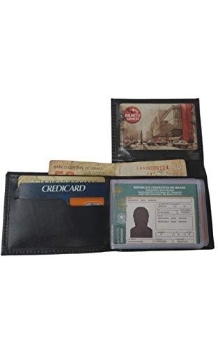 Mini Carteira Masculina Porta Cartão, Habilitação, Funcional Pequena