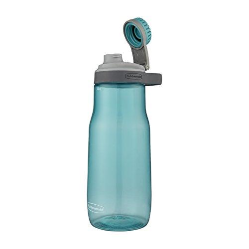 New Rubbermaid Leak-Proof Chug Water Bottle, 32 oz, Aqua Waters