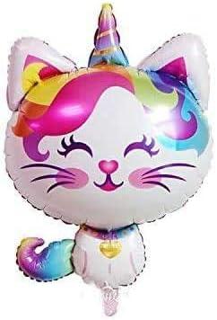 CY Mylar Animal Balloon Unicorn Cat Rainbow Balloon for Kids Bir