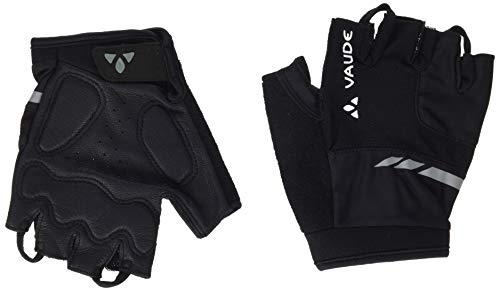 VAUDE Men's Pro Gloves II Gants de Cyclisme très Fonctionnels à Doigts Courts Homme, Black, FR : S (Taille Fabricant : 7)