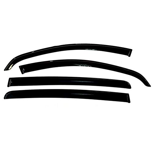 MOUNTAIN MEN Deflectores For Renault Sandero 2007-2014 Ventana de Coche de Coches deflectores de Viento Deflector Guardia Lluvia de Sun del Visera Vent Cubierta del Coche Que Labra los Accesorios