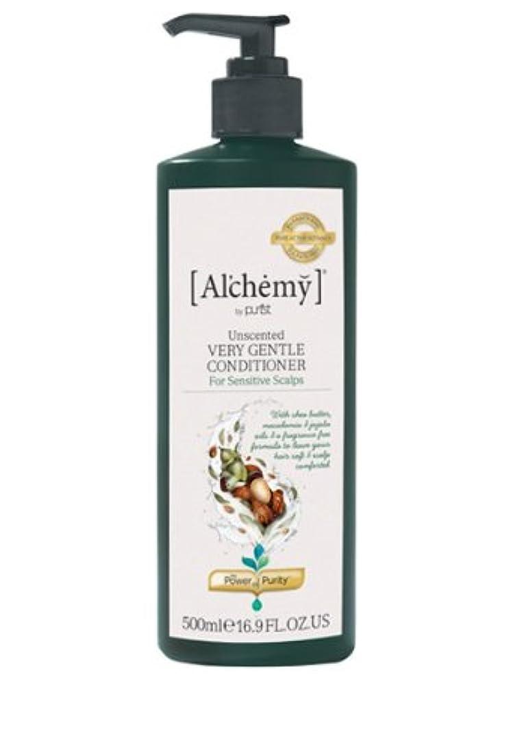 の前で老人コミット【Al'chemy(alchemy)】アルケミー ベリージェントルコンディショナー(Unscented Very Gentle Conditioner)(敏感肌用)500ml