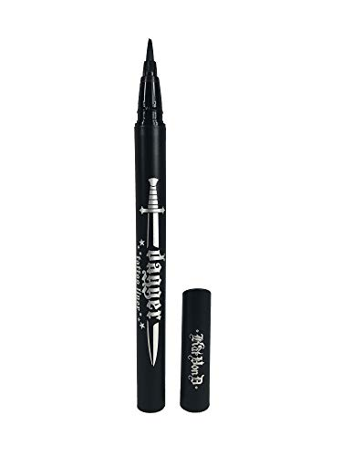 Kat Von D Dagger Tattoo Liner Waterproof Liquid Eyeliner Trooper Black
