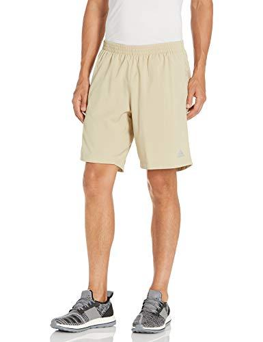 adidas Pantalones Cortos estándar Own The Run Savannah para Hombre, Talla XS