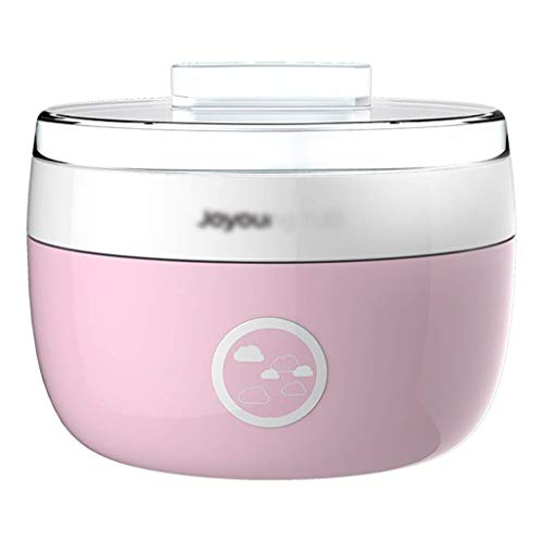 SCJ Kleine Haushaltsjoghurtmaschine, automatische multifunktionale Kinderjoghurtmaschine, Mini-Joghurtmaschine, selbstgemachte Fermentationsmaschine für Schlafsäle (1 l)