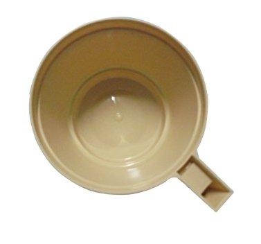 PZ 100 Tasse pour cappuccino chocolat et Caffe 'Avec Poignée Gobelet Caffe' en plastique Cl 20 Coffee And Hot Drinks Chocolate