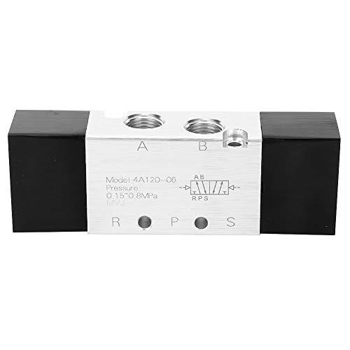 Válvula de alta calidad 4A120-06 2 posiciones 5 vías válvula de aire neumática entrada/salida/escape PT1/8in