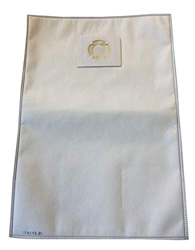 Bolsa para aspiradora Karcher: NT30/1, NT45/1, NT48/1, NT55/1, NT561, NT611, NT65/2 - HILTI VC20, VC40 - Bolsa de 5 bolsas de microfibra
