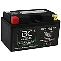 BC Lithium Batteries BCTZ10S-FP Batería Litio para Moto LiFePO4 YTZ10S YTX12-BS / YTX12A-BS YB12B-B2