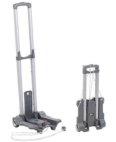 Xcase Camping Sackkarre: Ultra-kompakte Falt-Sackkarre mit Nylon-Rädern, bis 45 kg belastbar (Transportkarre)