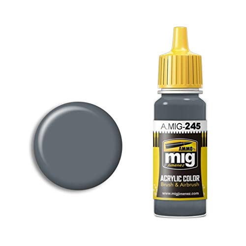 AMMO A.MIG-0245 Ocean Grey (Bs 629) Acrylfarbe, 17 ml, Mehrfarbig