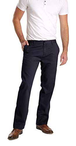ROUNDER Stooker Marco - Herren Chino Stretch Hose - Midnight Navy (Wie Malte) (32/32)