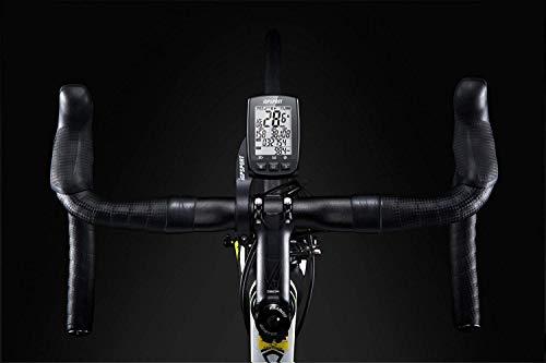 iGPSPORT iGS50E (versión española) - Ciclo computador GPS Bicicleta Ciclismo. Cuantificador grabación de Datos y rutas. Pantalla 2.2