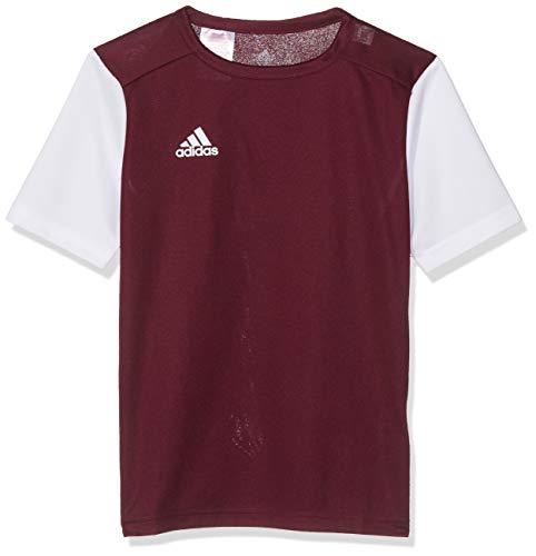 adidas Herren ESTRO 19 JSY T-Shirt, Maroon/White, L
