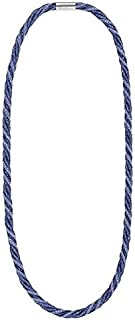 Swarovski Women's Mixed Without Stones Torques Necklace, 80 cm - 5189655, Crystal Blue