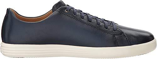 Cole Haan Men's Grand Crosscourt II Sneaker, navy leather burnished, 9 Medium US