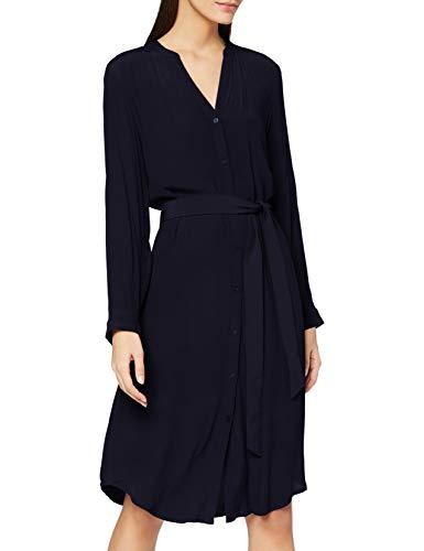 ESPRIT Damen 100EE1E314 Kleid, 400/NAVY, 36