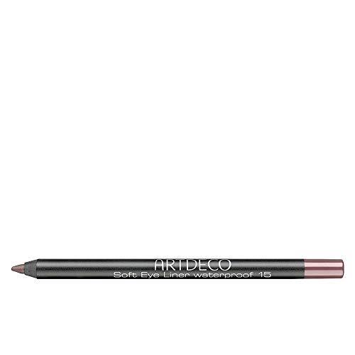 Artdeco Soft Eye Liner, 15 donker hazelaar, hazelnoot oogcontourstift, waterdicht, 1 stuk