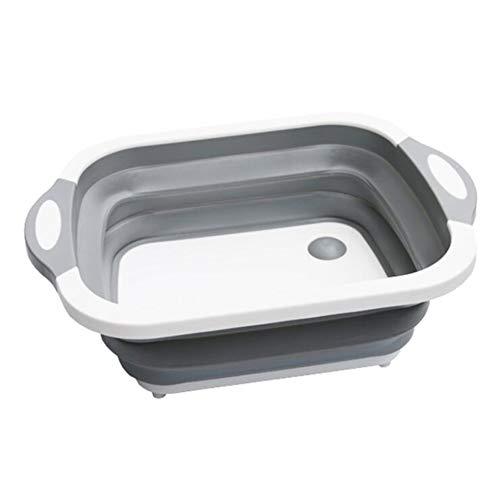 luckything Faltbar Abwasch-Schüssel, Tragbar Camping-Schüssel, Antibakterielle Schneidbretter Für Den Abwasch, Alle Aktivitäten Im Freien, Zu Hause Oder In Der Küche