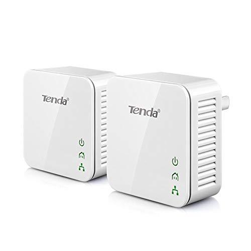 Tenda P200 200Mbps Mini Powerline Adapter Kit Plug and Play 2PCS