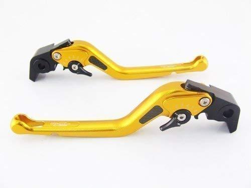 Strada 7 Racing Carbone Long Réglable Leviers Paire or pour Ducati Panigale/S / Tricolore