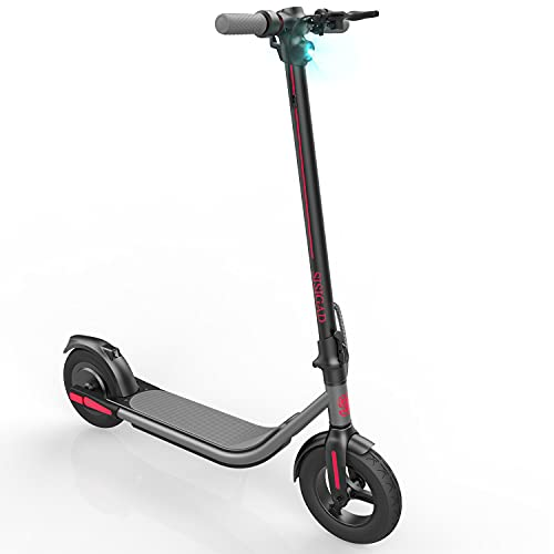 SISIGAD Electric Scooter for Adults,10' Solid Tires, 26.2 Miles Long Range Battery,...