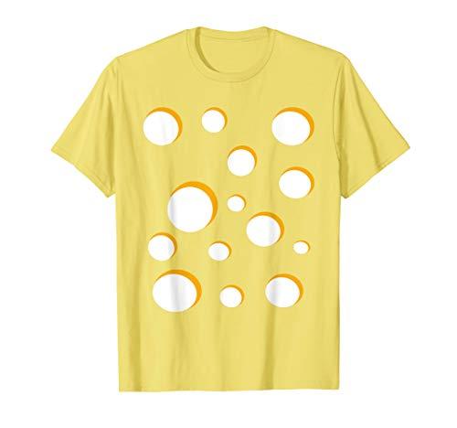 Cheese Costume Swiss Gouda Brie Cheddar Halloween T-Shirt T-Shirt