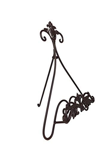 Crispe home & garden Leseständer, Tablet- und Kochbuchhalter, Buchhalter aus Metall für Küche, Büro oder zur Dekoration