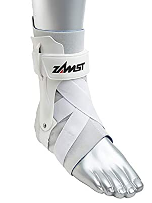 Zamst A2-DX Ankle Brace, White, Large - Right