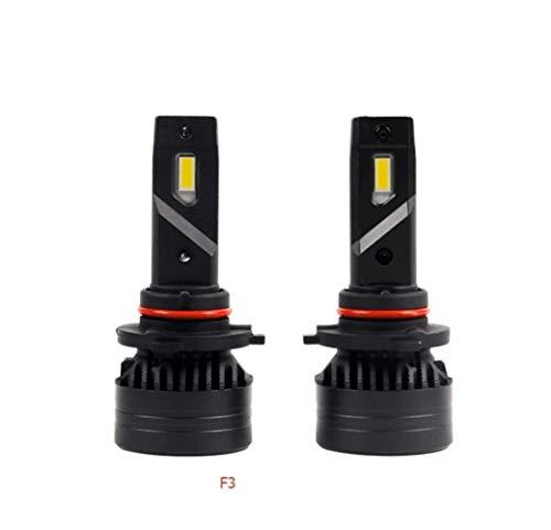 XIAOYAFANG Hxfang 90W 10000LM F3 H4 H7 H8 H11 H13 del Coche LED Faros con Bombillas de luz de Niebla H7 H8 H11 9005 9006 880 H1 del Coche LED de Faros Kit Ahora Caliente