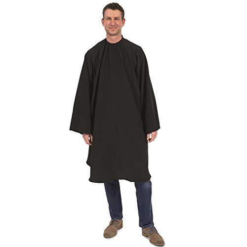Badjas Mannen Klittenband Zwart