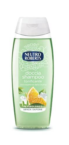 NEUTRO ROBERTS Doccia Shampoo Tonificante - 6 Confezioni da 250 ml - Totale: 1500 ml
