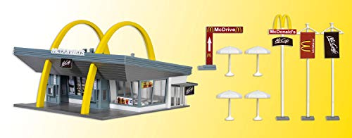 Vollmer 43634 Mc Donalds Restaurant with McDrive HO Scale Plastic Building Kit