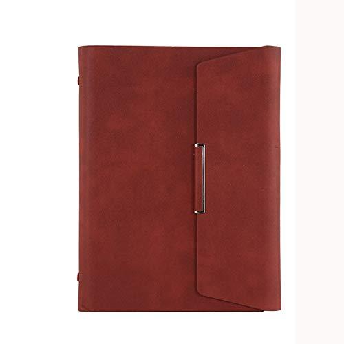 Yifan Cuaderno,Cuaderno Rayas,Cuaderno A5 extraíble de Hojas Sueltas,Cuaderno,Diario de papelería Comercial,Bloc de Notas para Estudiantes