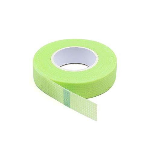 GUOJIAYI 15pcs Eyelash Isolation with Holes, Breathable and Comfortable Green Eye Pad