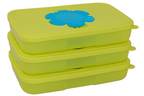 Tupperware® Feuchttücherbox klein 3X 650 ml & Kugelschreiber *Tolle Haushaltshelfer*.