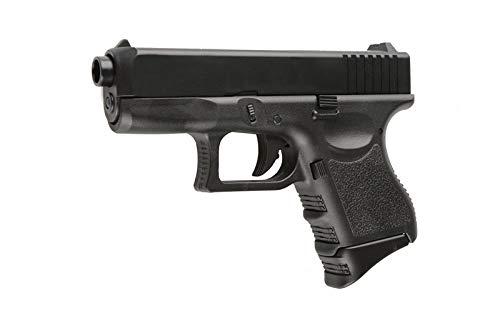 SWE Softair Pistole G17 klein P360 Federdruck Schwarz Kaliber 6mm BB