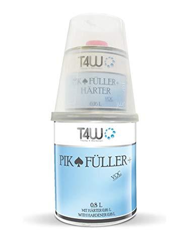 T4W PIK 2K HS Acrylfiller Grundierung 5:1 Füller Schwarz - 0,8 Liter inkl. Härter 0,16 Liter (59046)