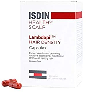 ISDIN Lambdapil Hair Density Capsules, Stronger and Healthier Hair, 60 capsules