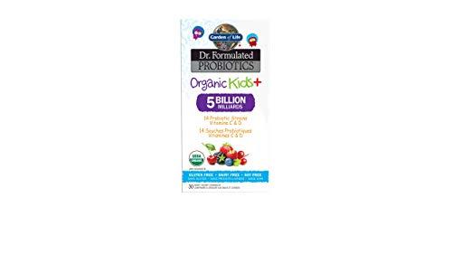 Garden Of Life Garden Of Life Dr. Formulated Organic Kids + Chew Probiotics Berry Cherry 30 Compresse Masticabili - 30 g